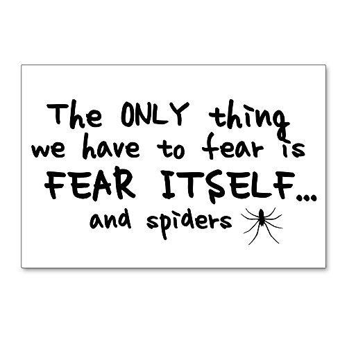 CafePress Fear Itself And Spiders Postcards (Package of 8), 6