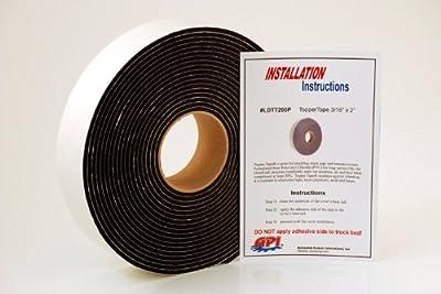 "API LDTT200P Topper Tape® for Mounting Truck Caps / Camper Shells (1 roll 2"" x 30' long)"