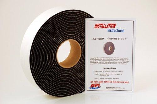 Pickup Gasket - API LDTT200P Topper Tape® for Mounting Truck Caps / Camper Shells (1 roll 2