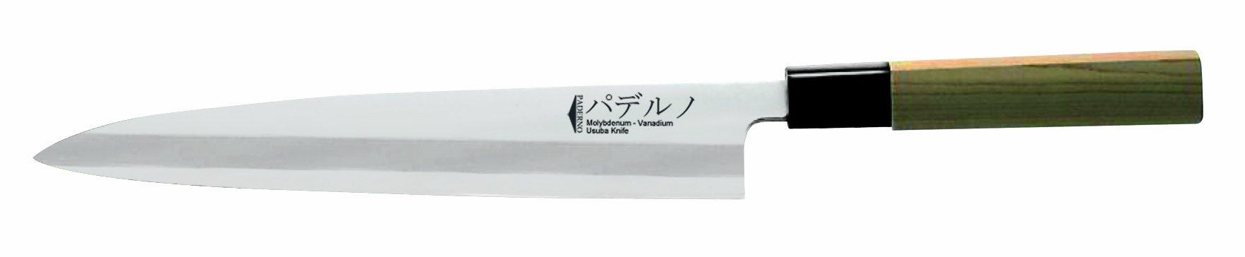 Paderno World Cuisine Oroshi Japanese Sushi Knife, 9-1/2-Inch