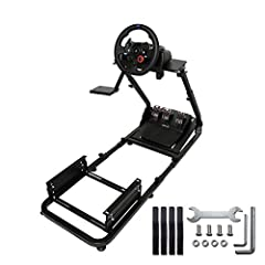 Marada Driving Racing Seat ,Racing Simulator Steering Wheel Stand Compatible for T500, G25, G37, G29  Marada is a company specializing in game products, including simulation racing, E-sports and game accessories.  Compatible Racing Products D...