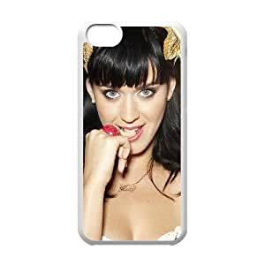LJF phone case C-EUR Print Katy Perry Pattern Hard Case for iphone 4/4s
