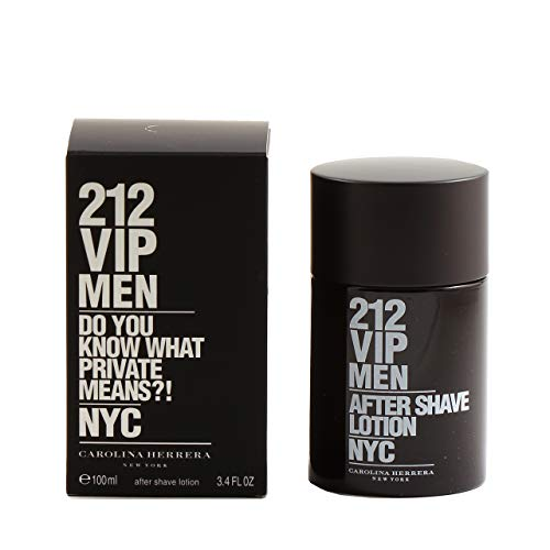 Price comparison product image CAROLINA HERRERA 212 Vip Mens After Shave Lotion 3.4 oz