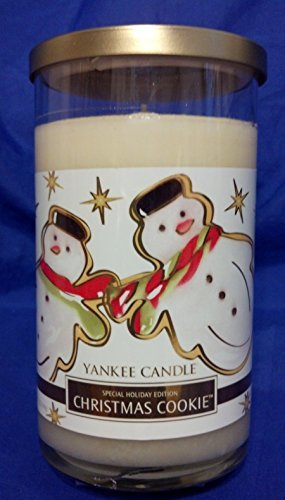 Yankee Candle 12 oz Limited Edition CHRISTMAS COOKIE Special Holiday Edition Decorative Tumbler by Yankee Candle