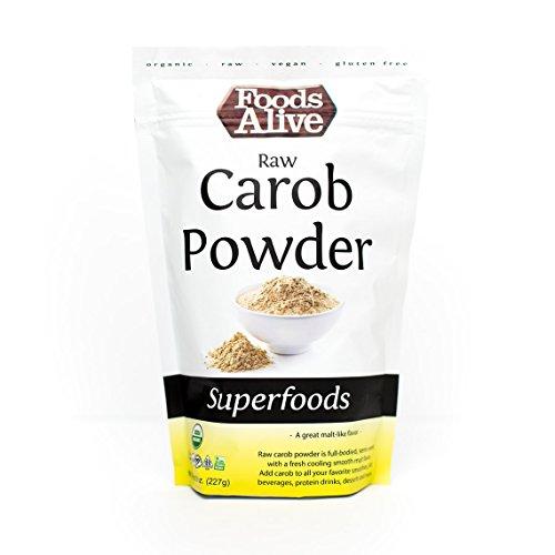 Foods Alive Organic Carob Powder, Raw, 8 ()