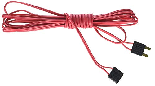 Bachmann Trains - E-Z TRACK - 10' POWER EXTENSION WIRE - RED - Pack Power Ho