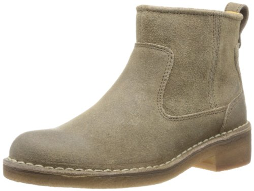 Clarks Maida Ice - Biker Boots de cuero mujer marrón - Braun (Walnut Leather)