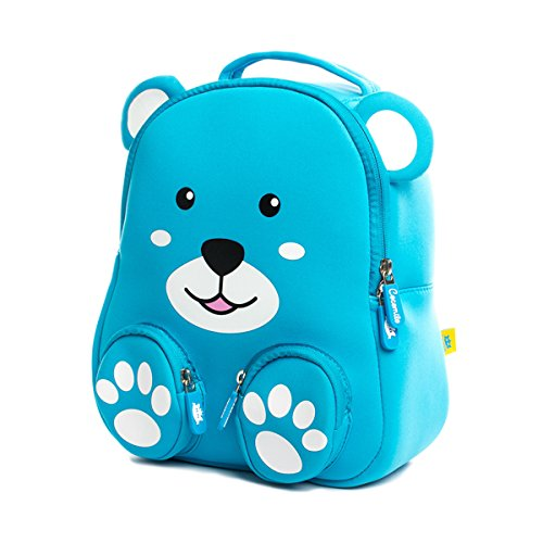 Toddler Bear Backpack for Kids Waterproof Preschool Bag Cute Baby Bag with Ant-lost Leash by Cocomilo