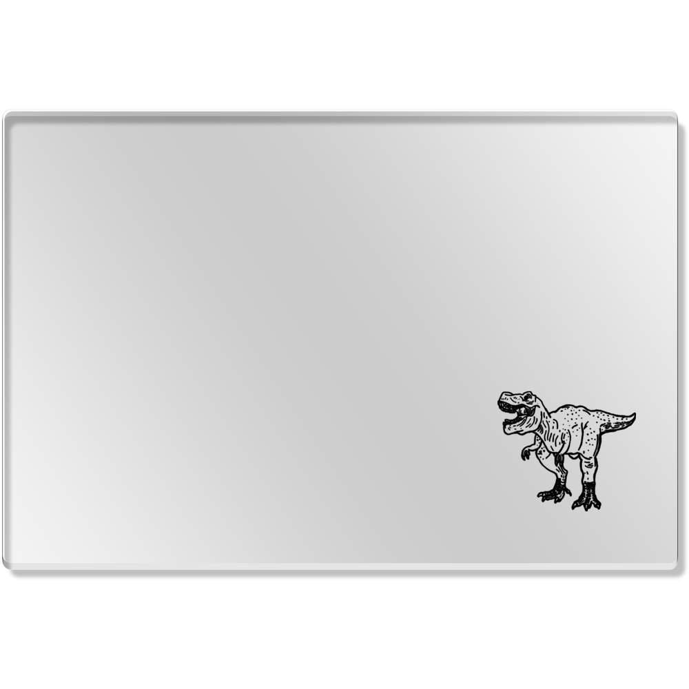 ' T Rex Dinosaur 'クリアアクリルテーブルマット( cr00110000 )   B075G17YJR