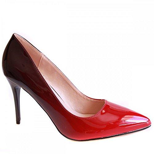 Donna col Tacco Name Scarpe Rosso No awqUgCx