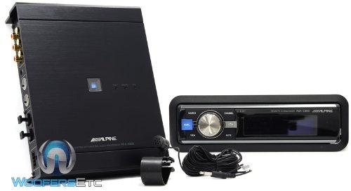 (Pkg PXA-H800 - Alpine Imprint Audio Processor + RUX-C800 - Alpine In-Dash Controller for PXA-H800)