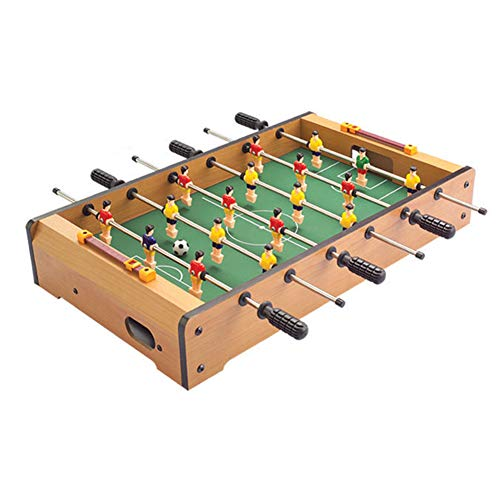 Tabletop Foosball Table,Soccer Foosball Table,Portable Mini Table Football, Soccer Game Set with Two Balls and Score Keeper for Adults and Kids