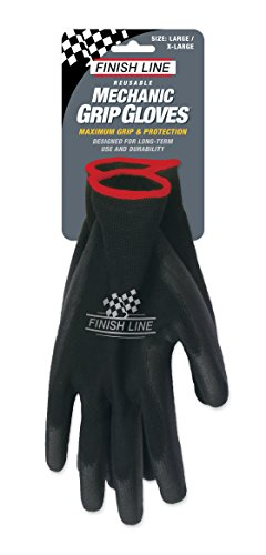 Finish Line Mechanic Grip Gloves - Large/XL