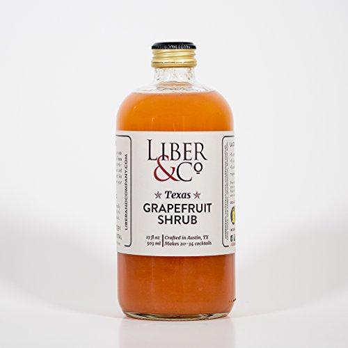 Liber & Co. Texas Grapefruit Shrub (17oz)