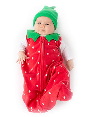 Cuddle Club Strawberry Wearable Blanket S