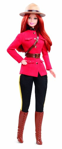 Barbie Collector Dolls of the World Canada Barbie Doll