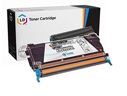 (LD Compatible C5222CS Cyan Laser Toner Cartridge for Lexmark (C520/C522 Series Printers))