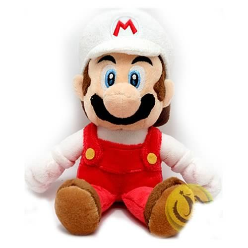 all Size Fire Mario Plush by Sanei ()
