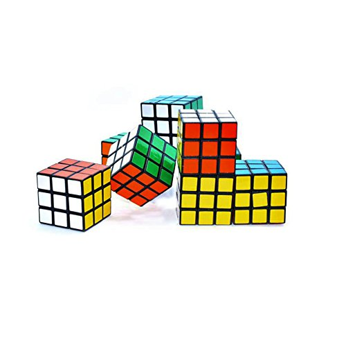 20 PCS Mini Color Cube Puzzle Game Toy for Party Favors 3 x 3 cm