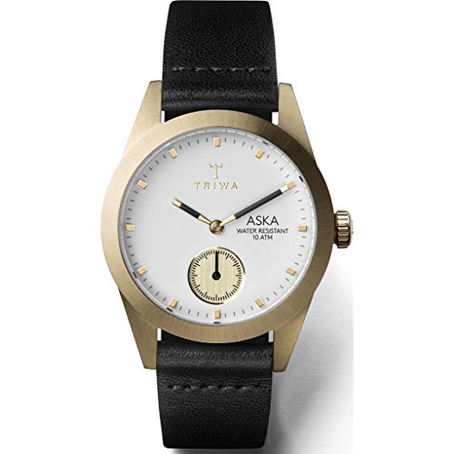 Triwa Ivory Aska Watch | Black Classic Super Slim