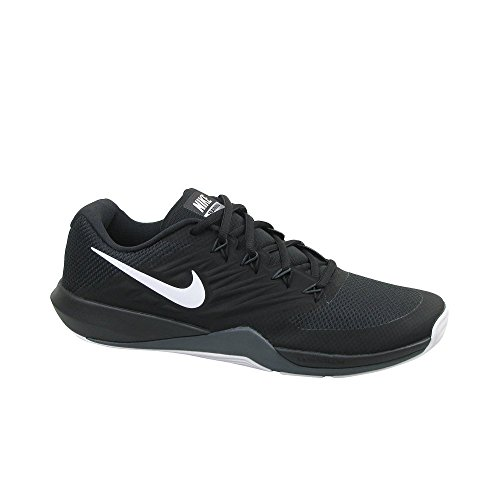 Nike Lunar Prime Iron II, Chaussures de Fitness Homme, Noir (Black/Metallic Silver-Anthracite 001), 46 EU