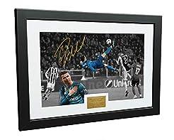 Cristiano Ronaldo 12x8 A4 Signed The Ove...