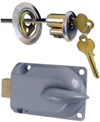 Stanley N280 784 Metal Lock Cylinder Interior Bolt Garage Door