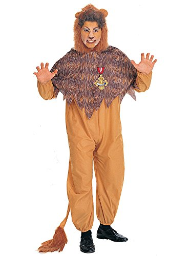 Rubies Costumes Mens The Wizard Of Oz - Cowardly Lion Adult Costume Plus -