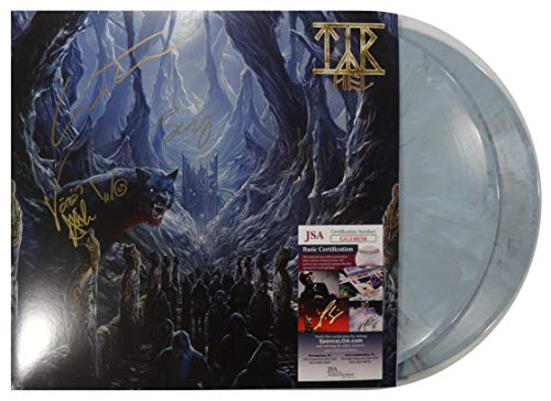 """Signed Tyr Autographed Hel Double 12"""" Gray Double 12"""" Lp Certified Jsa # Gg18050"""