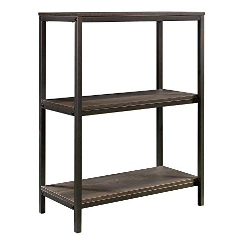 Sauder North Avenue Bookcase, Smoked Oak finish