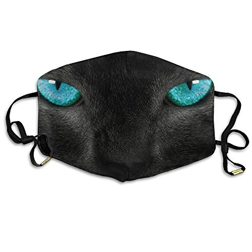 Zhenyun Cat Print Anti Dust Face Mask,Reusable Warm Windproof Mouth Mask