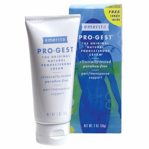 Free Pro Gest Body Cream - Pro-Gest Paraben-Free Cream - 2 oz (56 Grams) by Emerita