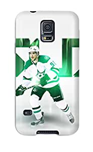 High Impact Dirt/shock Proof Case Cover For Galaxy S5 (dallas Stars Texas (3) )