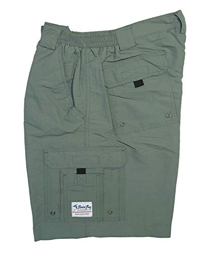 Bimini Bay Outfitters Men's Boca Grande II with BloodGuard Nylon Short (Everglade, 38)