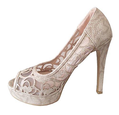 Inception Pro Infinite Mujer Zapatos de tacón Beige