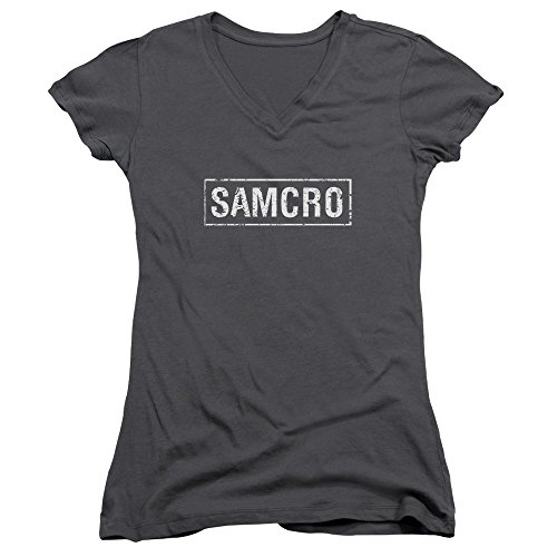 Sons of Anarchy TV Show Samcro Juniors V-Neck T-Shirt Tee