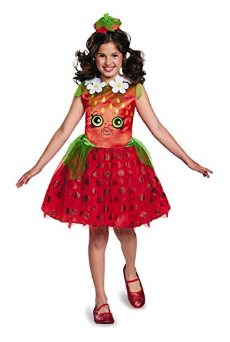 Shopkins Strawberry Classic Costume, One Color, Medium/7-8 ()