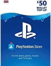 PlayStation PSN Card 50 GBP Wallet Top Up | PSN Download Code - UK account