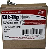 Malco Products, Inc. HW8X12Z12M *Malco 8x1/2 Zip Screws