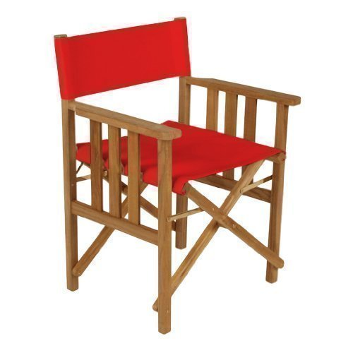 Gardenista Red Replacement Waterproof Cover for Directors Chair