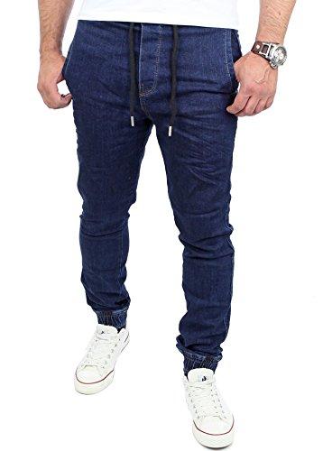 Dunkelblau Dunkelblau Reslad Jeans Reslad Jeans Uomo Reslad Uomo tqRnwf8x