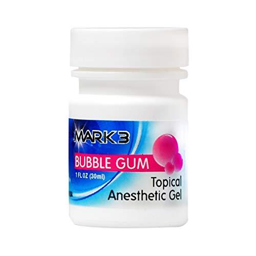 Dental Topical Anesthetic Gel 1 Oz (20 % Benzocaine)(1oz) (Bubble Gum)