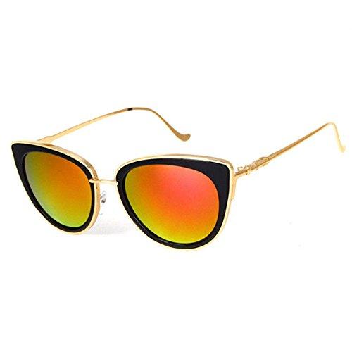 Aoligei Dames de lunettes de soleil et lunettes de soleil visage mince  lunettes fashion Street B 2aa5bdc9a32e