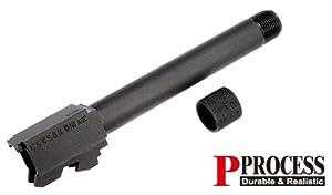 GUARDER/KSC グロック G17/G18C 14mm逆ネジ スチール スレッドアウターバレル 2015Ver
