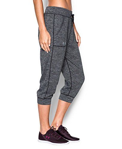 Under Armour Women's Tech Twist Capri, Black (001), Medium (Under Armour Capri Pants compare prices)