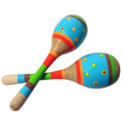 Sassafras Diddy-Doo-Dah Bright Stripes Maracas Music Set