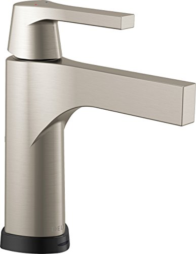 Faucet  Zura Single Handle Centerset Lavatory Faucet with Touch2O.xt Technology, Stainless - Delta 574T-SS-DST