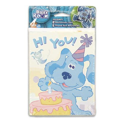 Blue's Clues Room Invitations and Thank You Notes - 16 - Invitations Blues Clues