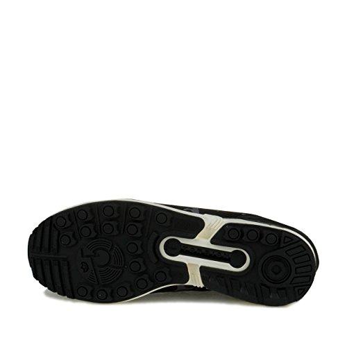 Adidas Mens Zx Flux Black1 / Ecru / Kol Syntetisk Storlek