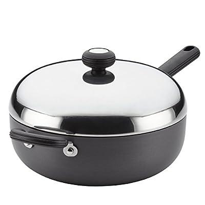 Circulon 83859 Classic Nonstick Chef Pan, 4 quart, Gray